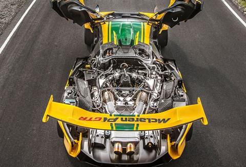 The McLaren P1 GTR's soul