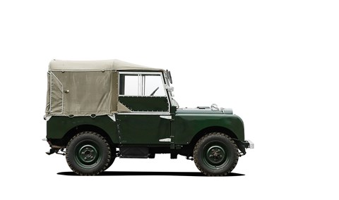 The very first Land Rover Defender