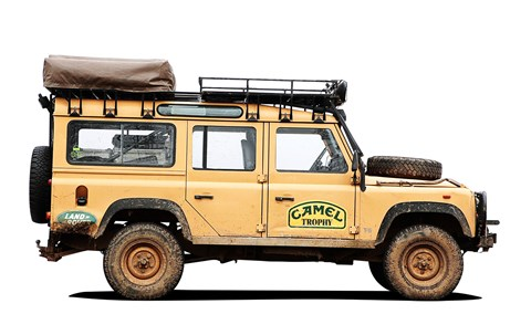 The Series III, 90, 110 and Defender rule the Camel Trophy and G4 challenge
