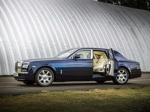 The Rolls-Royce Phantom, 5th on our list and it's easy to see why