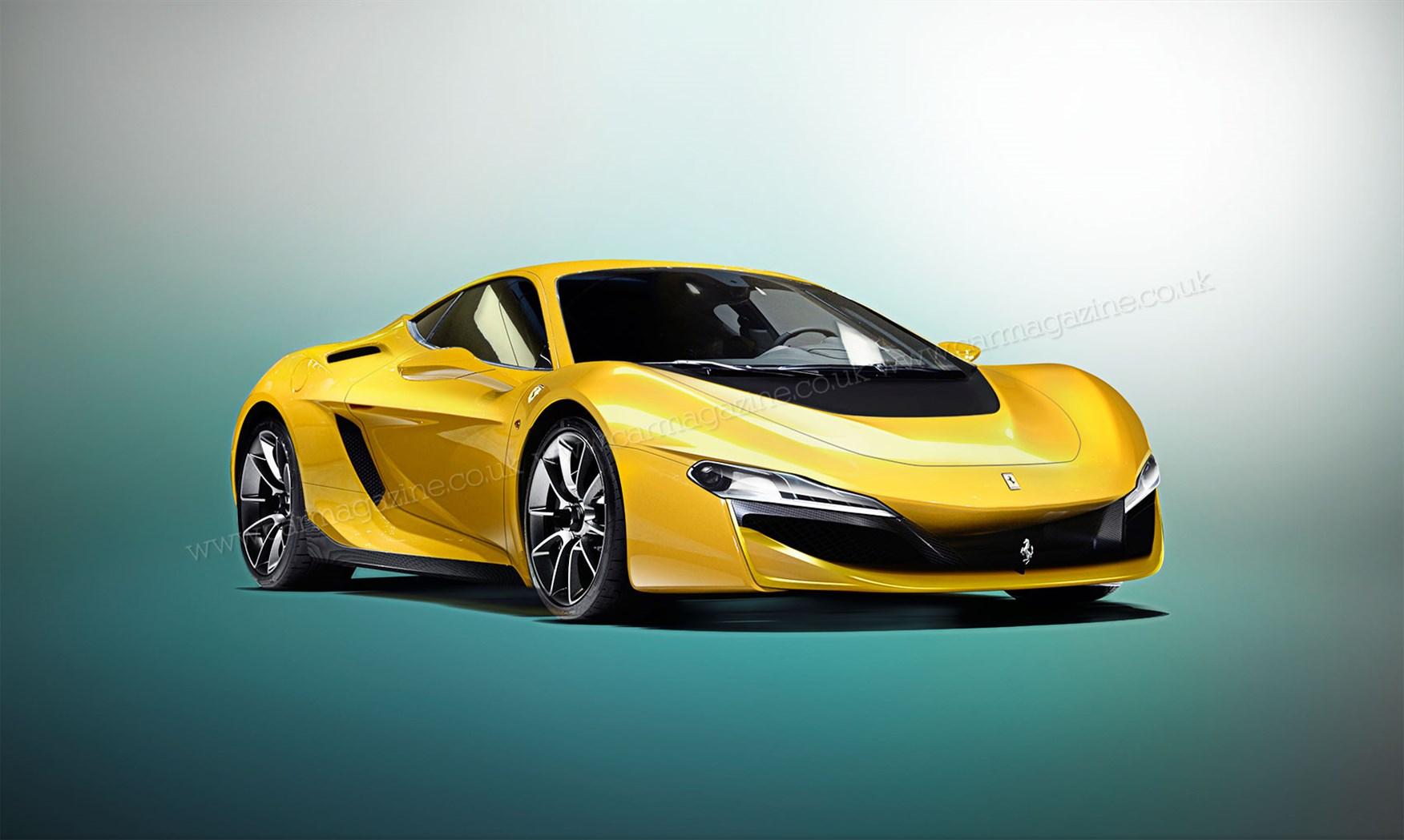 Ferrari Dino 2019 >> Future Ferrari Dino: the V6 supercar project is still ...