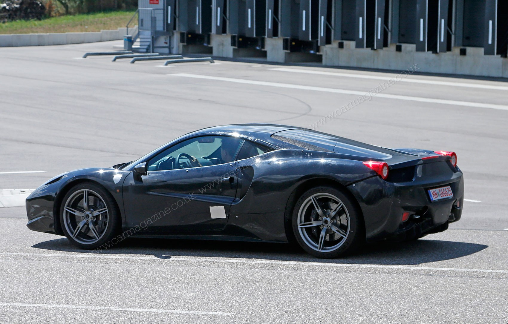 Our Spies Caught Ferrari 488 Gtb Test Hack On In Modena