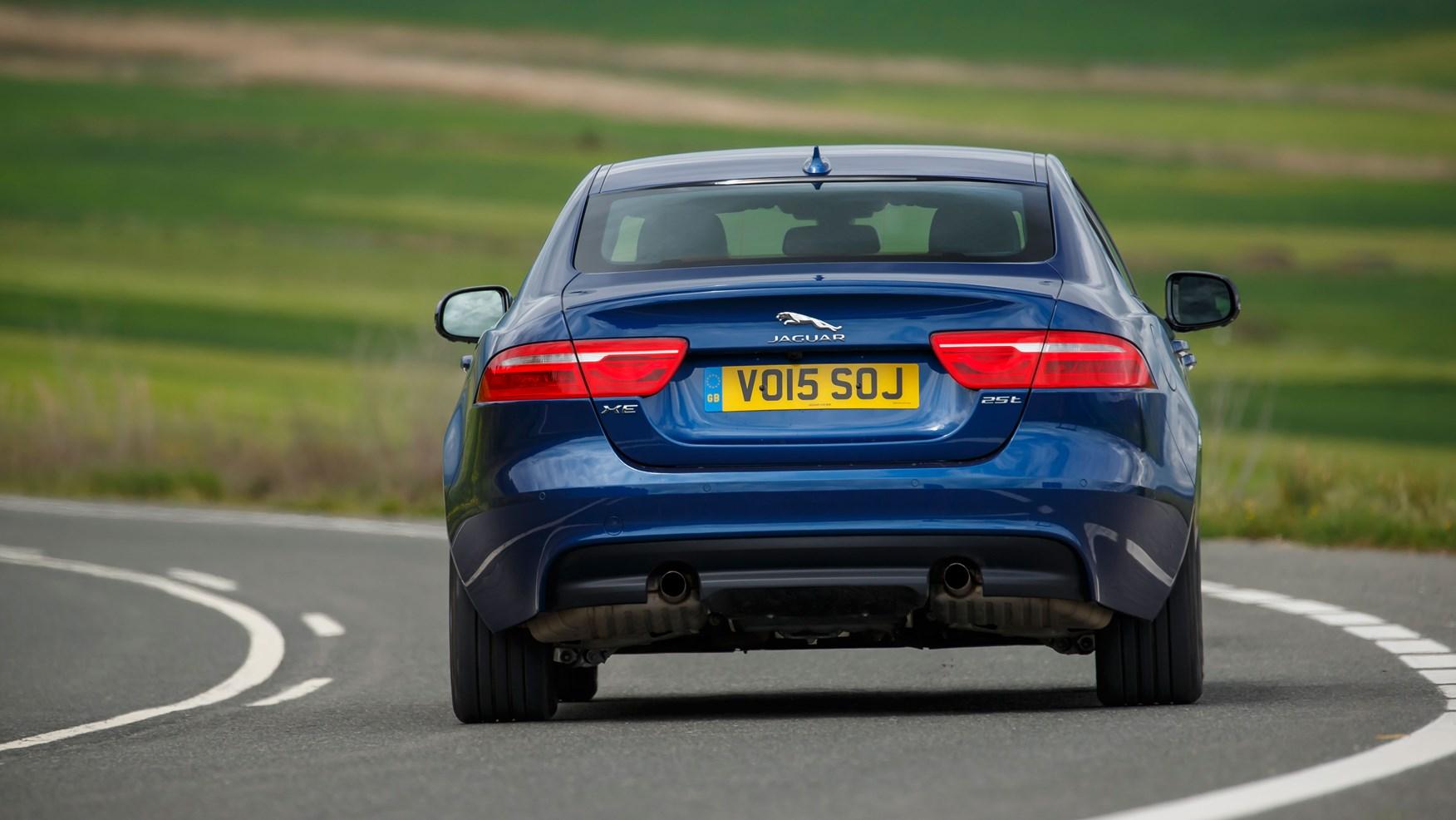 jaguar xe manual transmission review