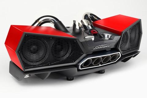 Lamborghini Esavox bluetooth speaker