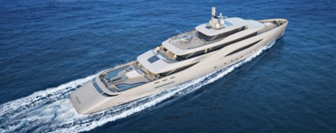The Pininfarina-designed mega-yacht