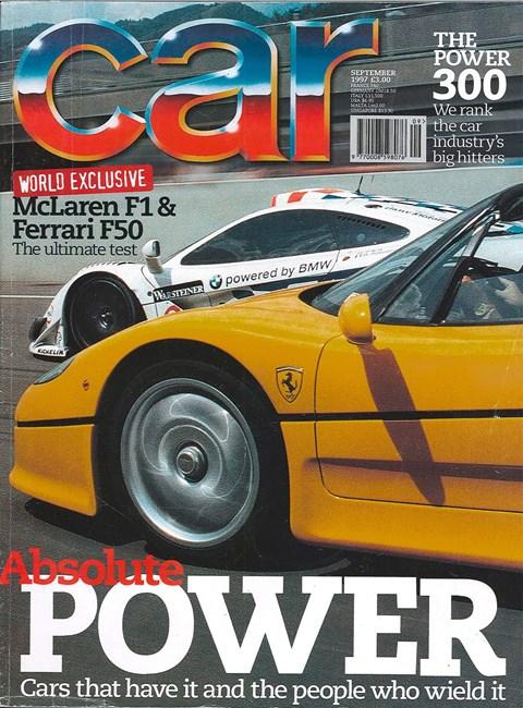 CAR magazine UK September 1997 issue