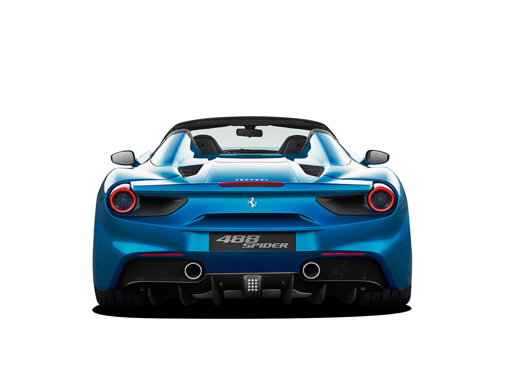 from ferrari s blu period the 488 gtb spider car