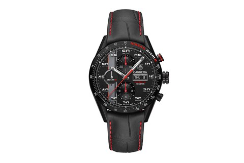 The TAG Heuer Carrera Nismo watch - you'll have to be quite the Nissan fan to buy one