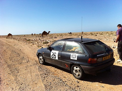 Milestone bonanza! Chris' 1994 Astra just topped 200,000 miles in the Sahara desert of all places. He's on a 4500 mile, 10 country epic adventure