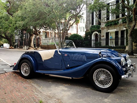 A 1961 Morgan in the American Deep South, that's a rare sight