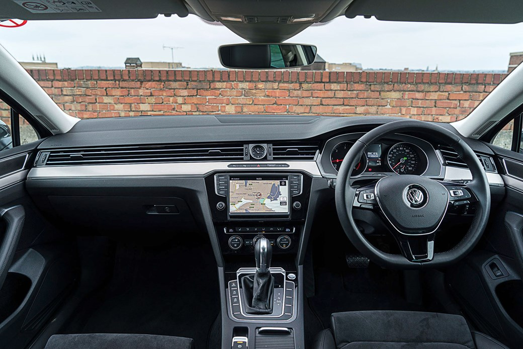 Inside The VW Passat Estates Cabin Shades Of Audi Anyone