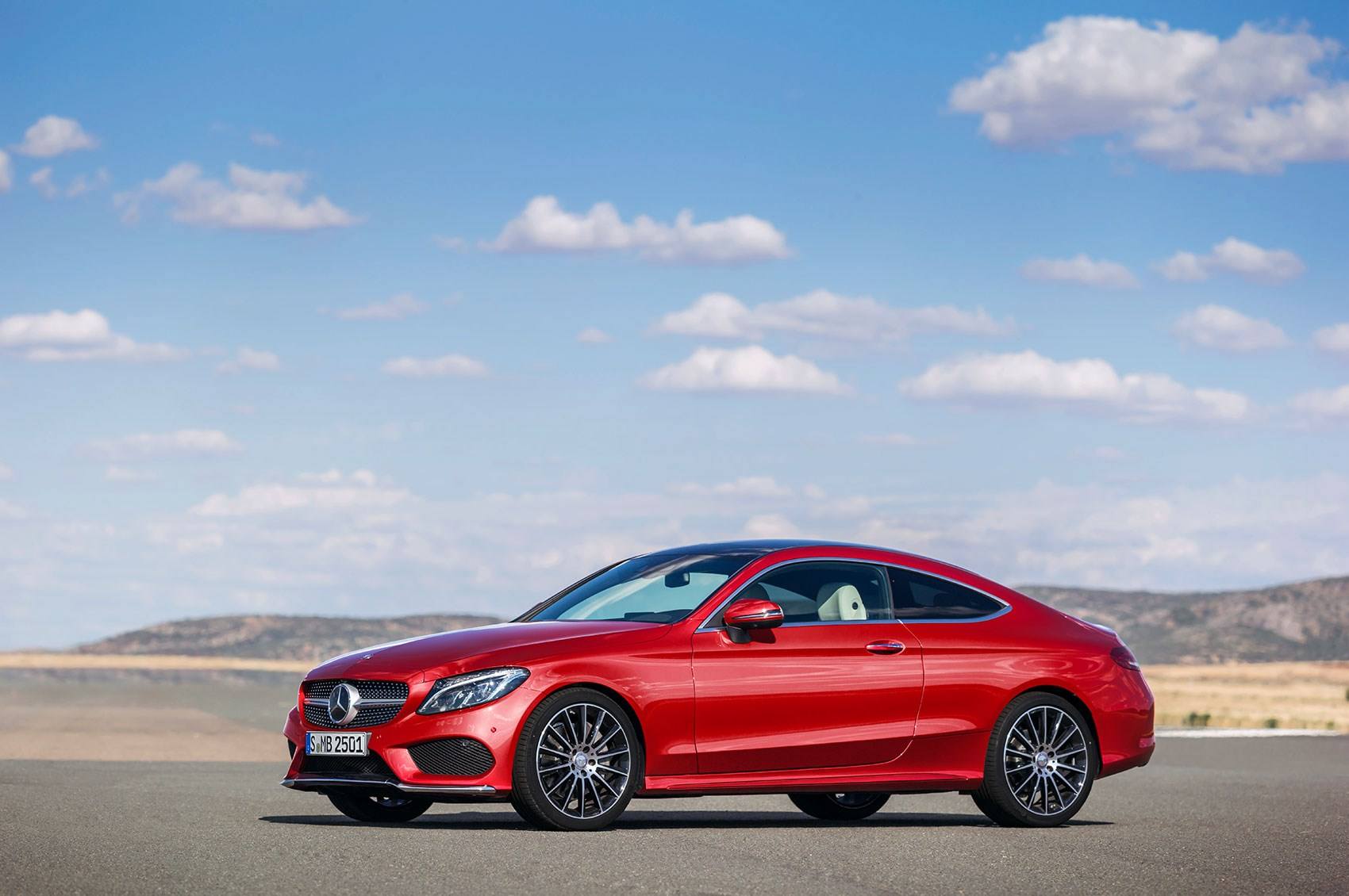 New 2016 Mercedes Cclass Coupe takes fashion lessons from the