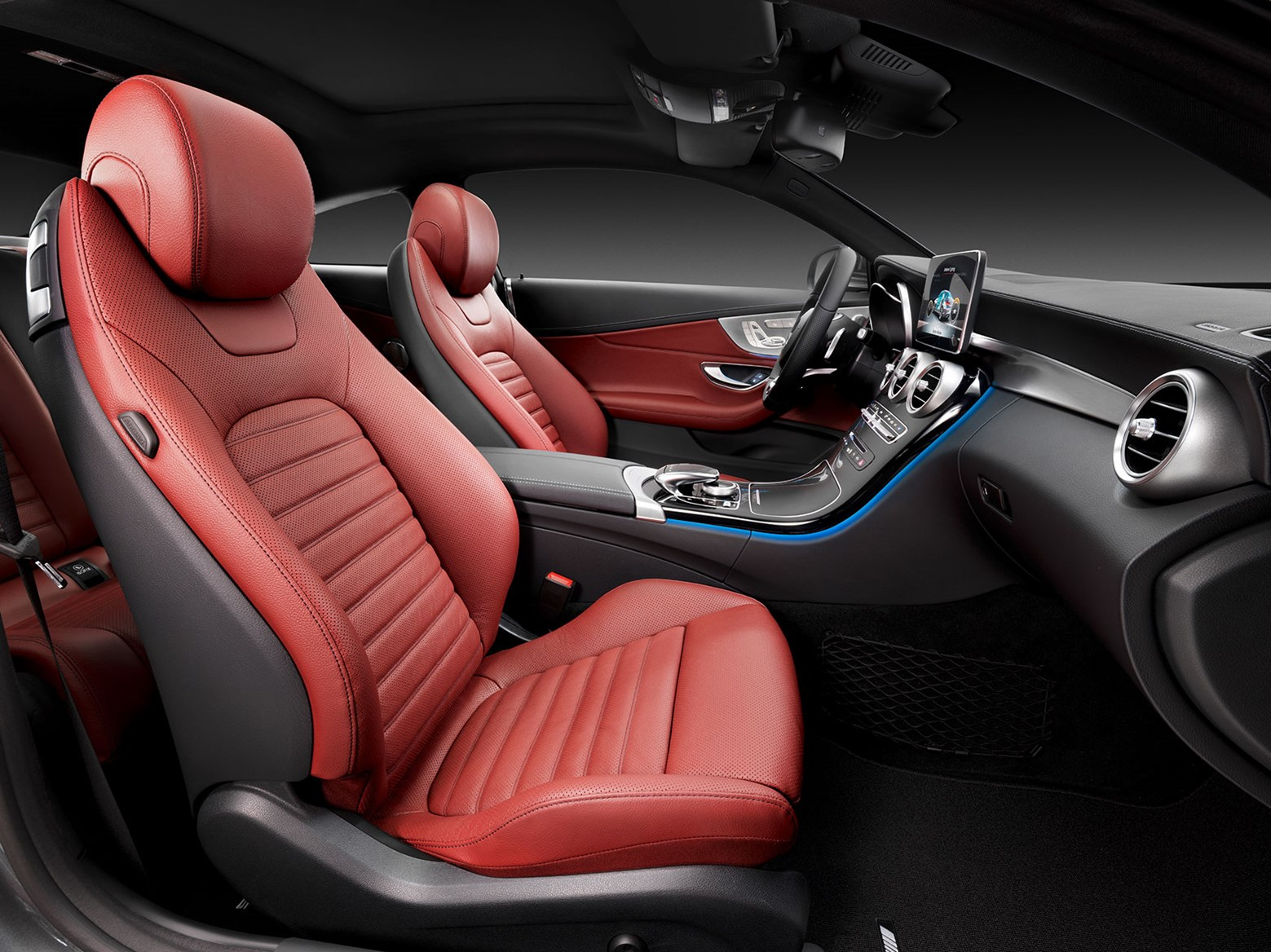 sport leather seats