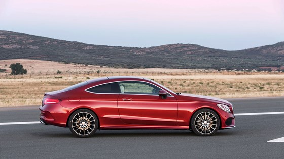 New 2016 Mercedes C Cl Coupe Takes Fashion Lessons From The Audi A5