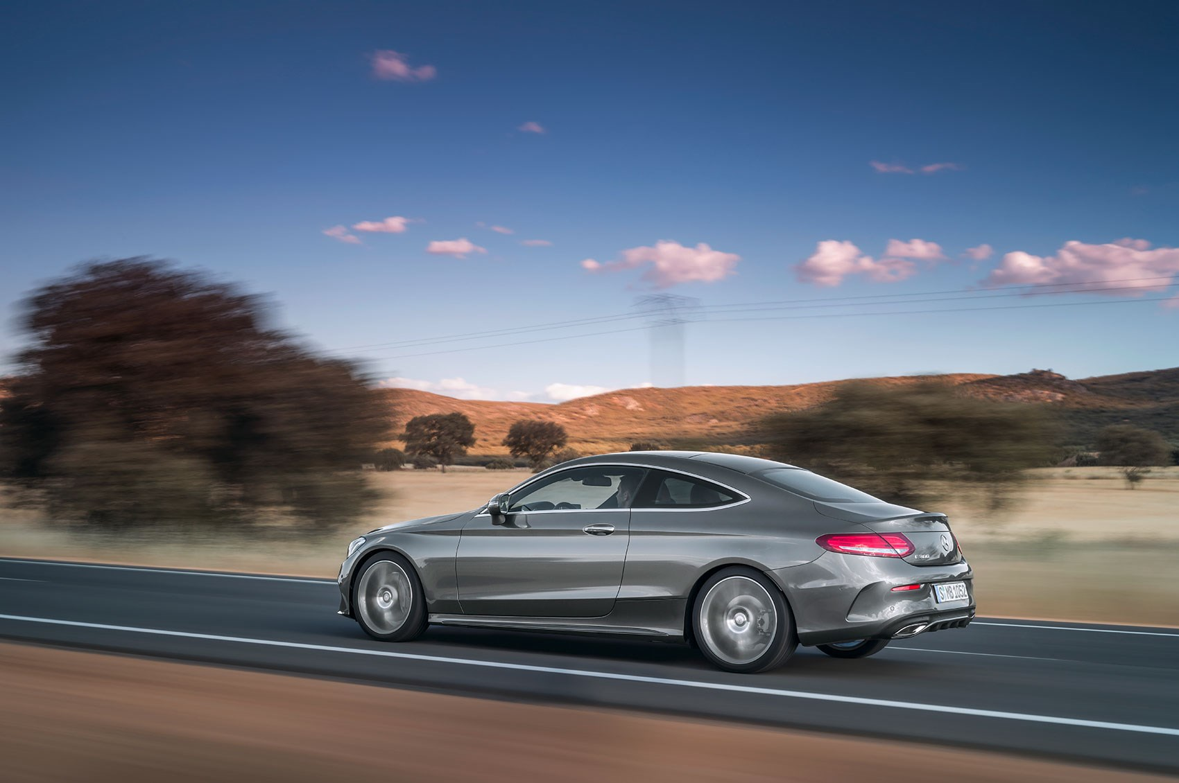 new 2016 mercedes c class coupe takes fashion lessons from the audi a5 by car magazine. Black Bedroom Furniture Sets. Home Design Ideas