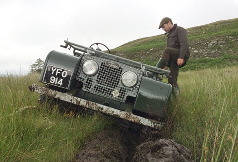 Saying goodbye to the original Land Rover. It's CAR's #BritCarBucketList