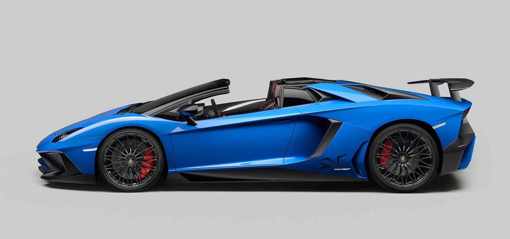 lamborghini aventador super veloce roadster (2016): the sv blows its