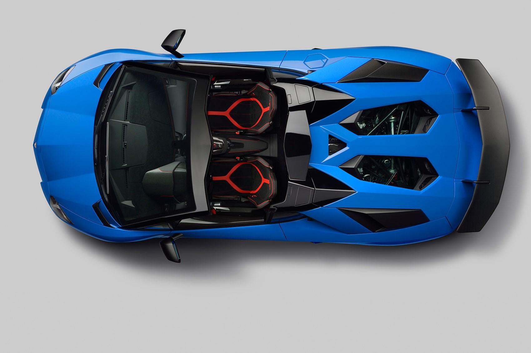 lamborghini aventador super veloce roadster 2016 the sv blows its top by car magazine. Black Bedroom Furniture Sets. Home Design Ideas