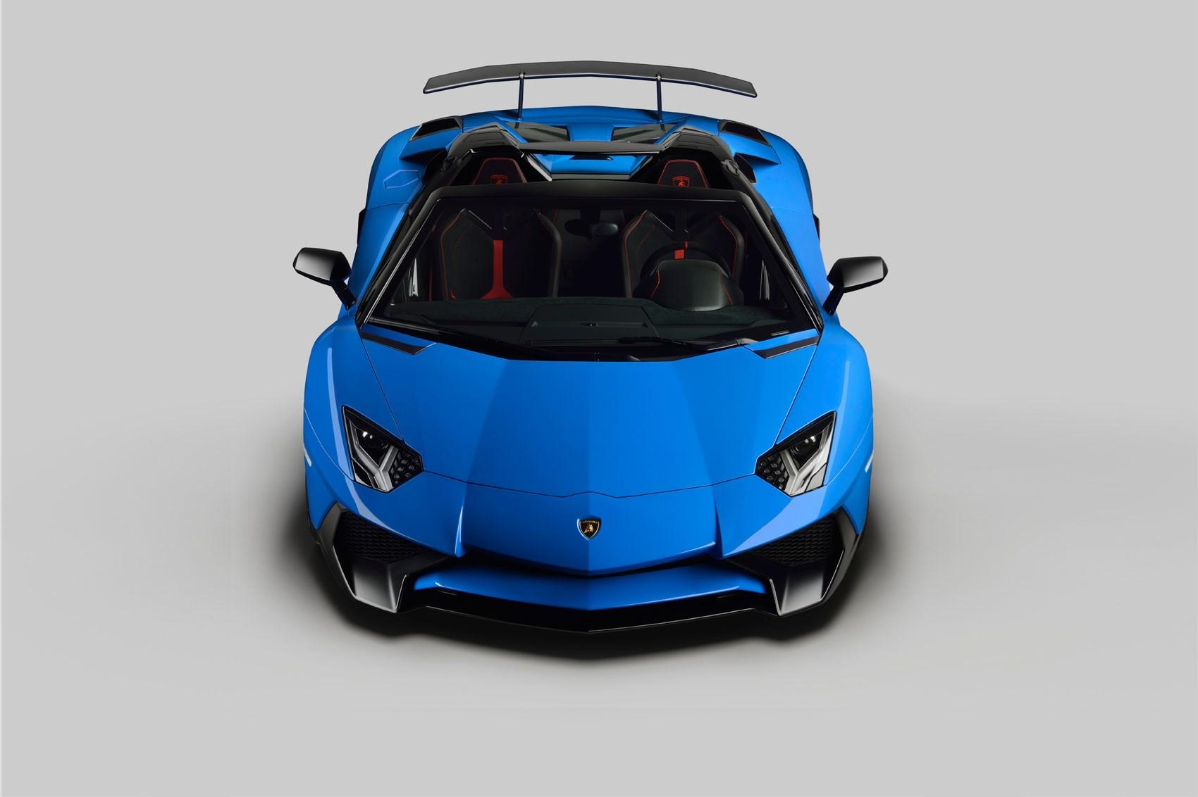 Lamborghini Aventador Super Veloce Roadster 2016 The Sv