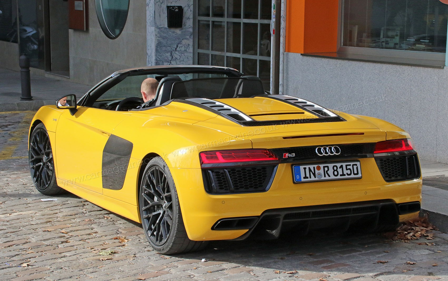 The new 2016 audi r8 spyder undisguised