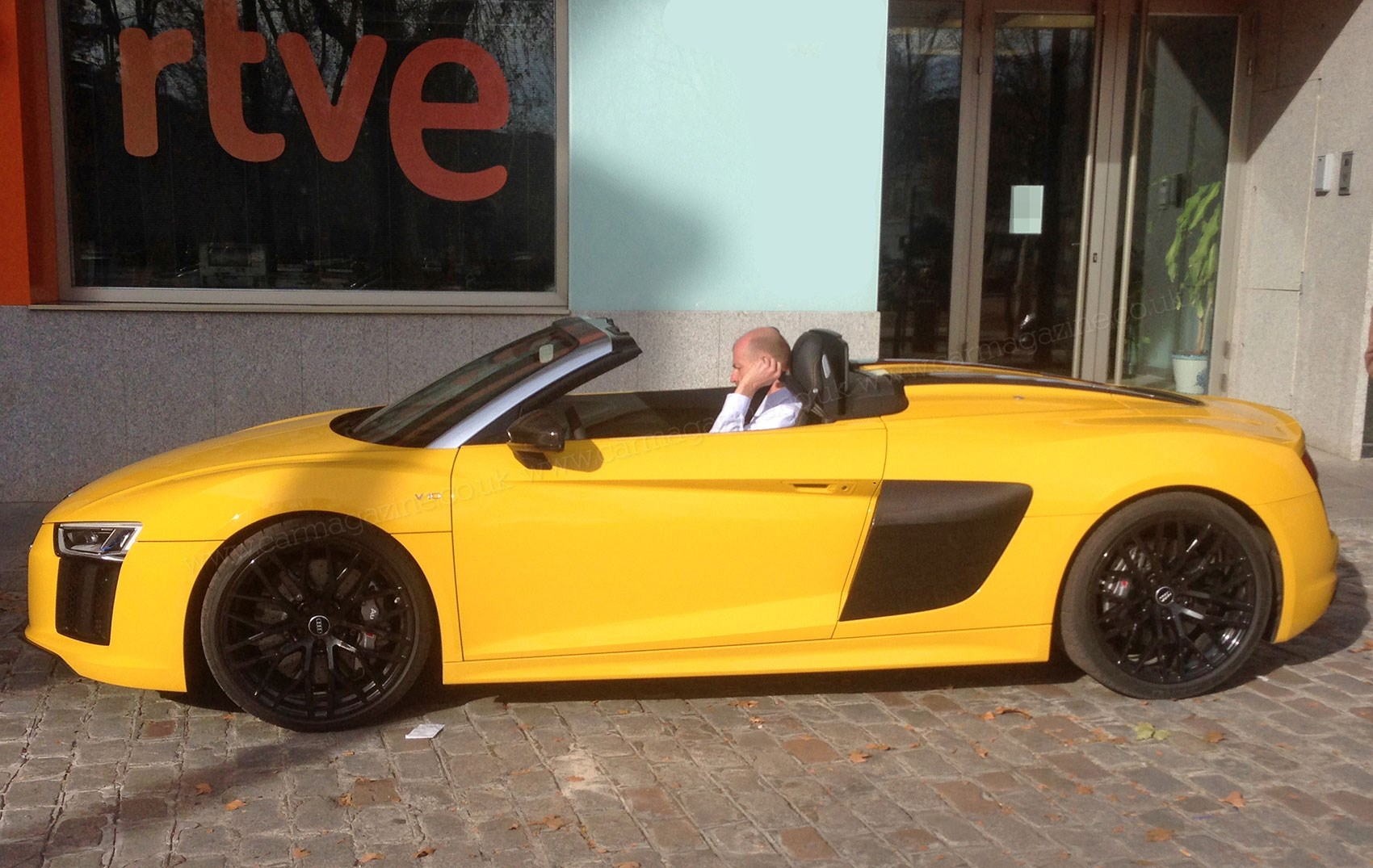 The New 2016 Audi R8 Spyder Undisguised Yes I Forgot To Put Camo On Sorry