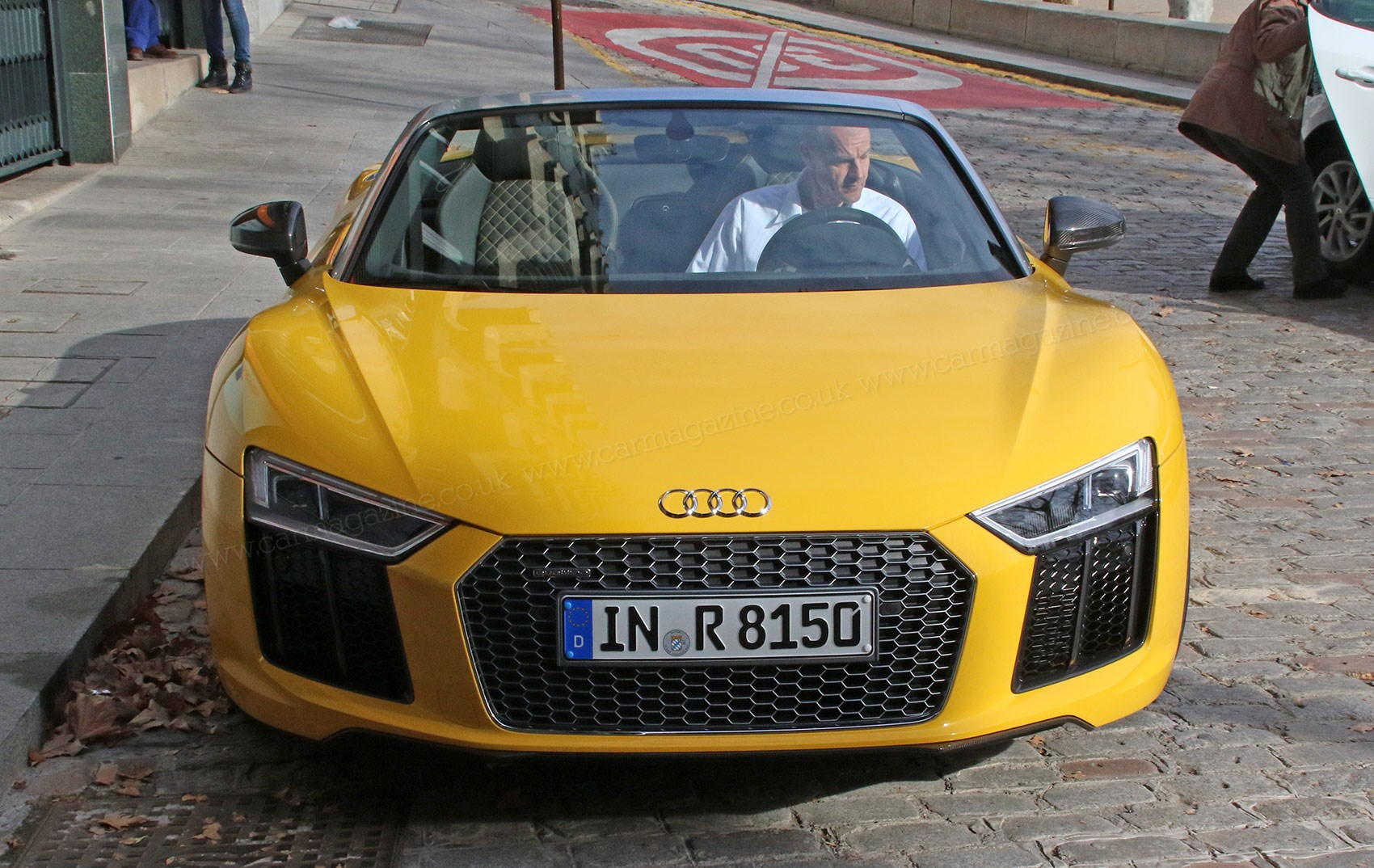 Like The Coupe Just With No Roof Meet New Audi R8 Spyder