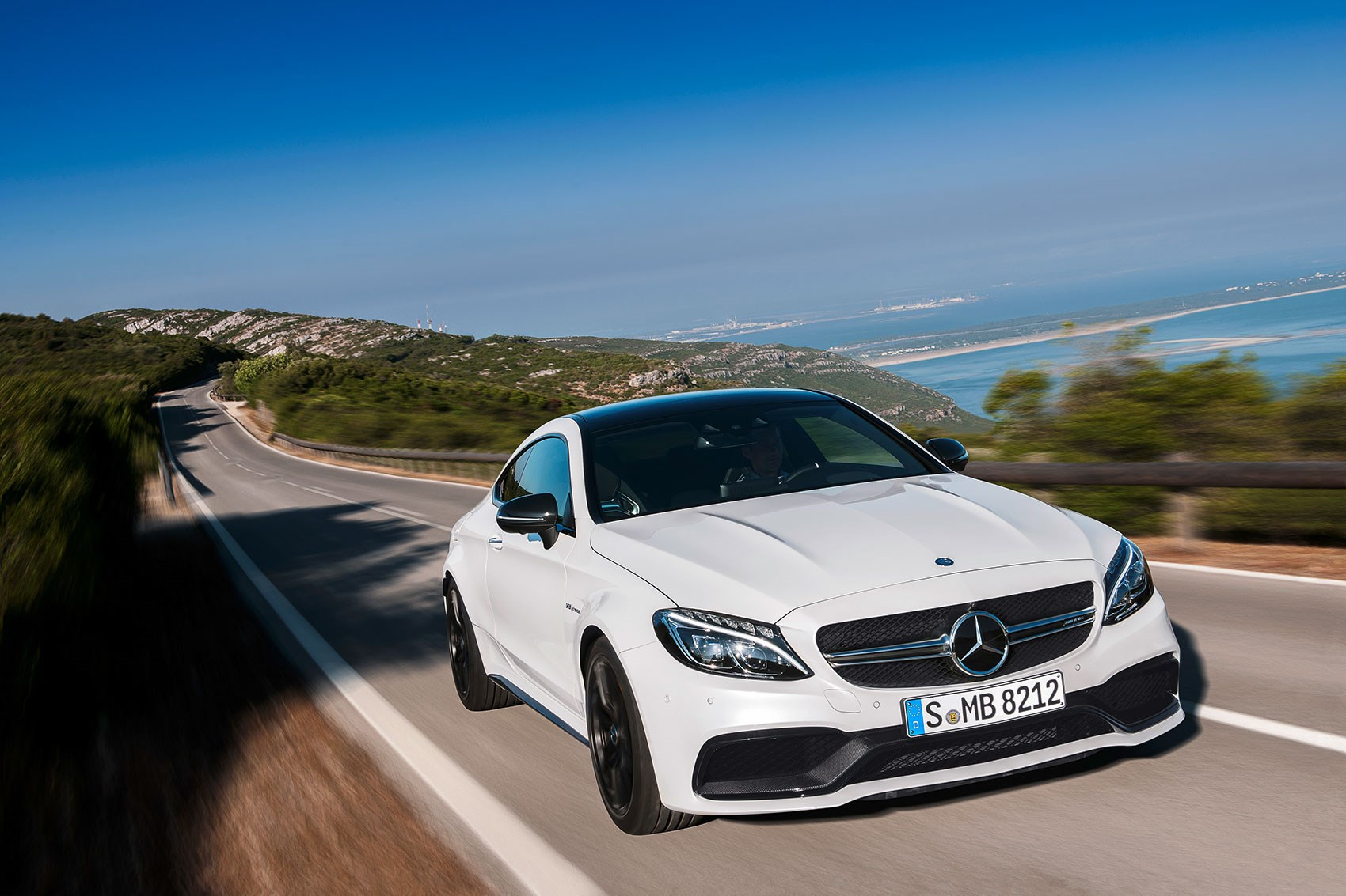 Mercedes c class coupe hits the gym meet 2016 39 s new amg c63 car magazine - Mercedes classe c coupe amg ...