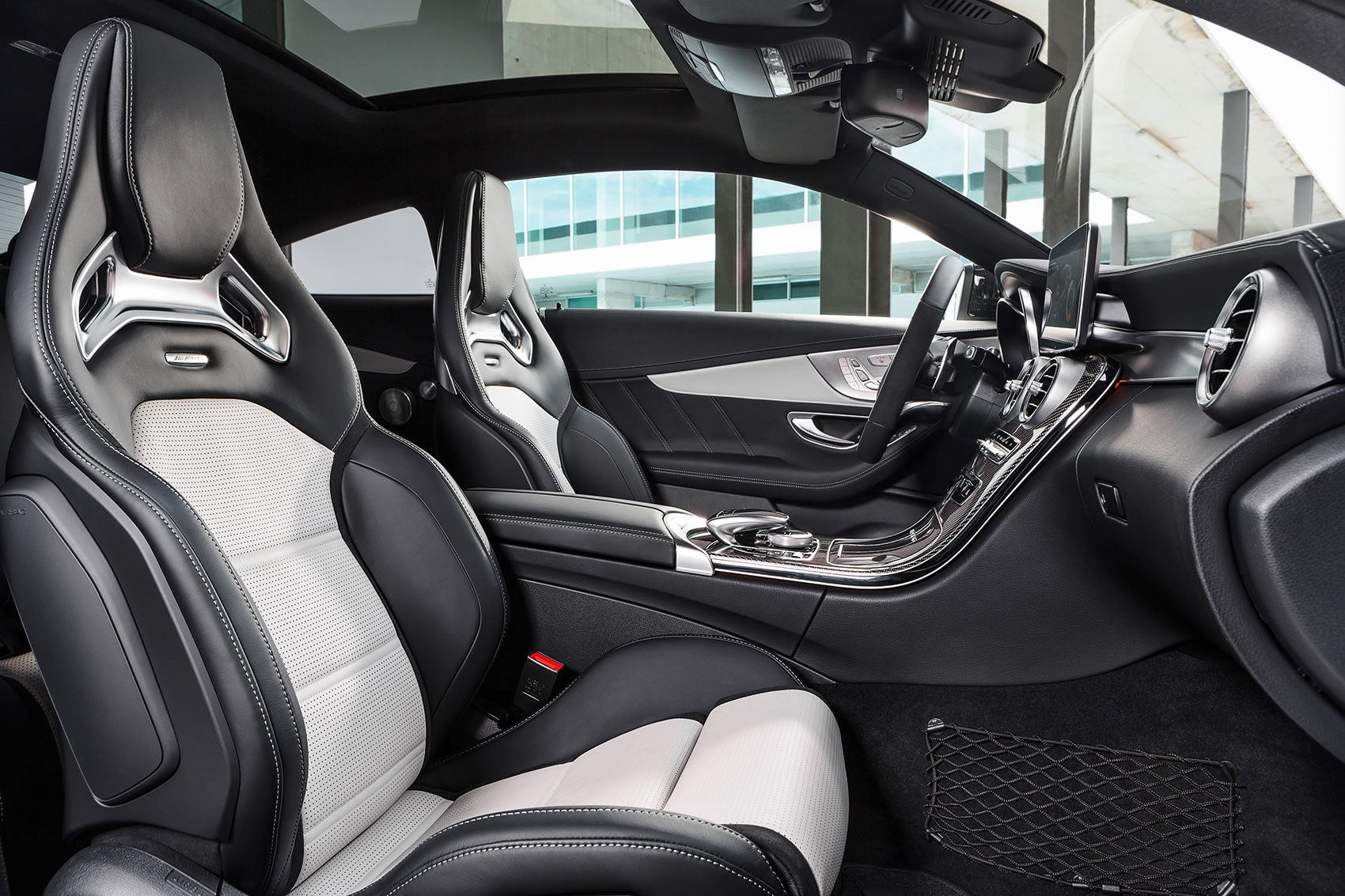interior comes with sports seats as standard