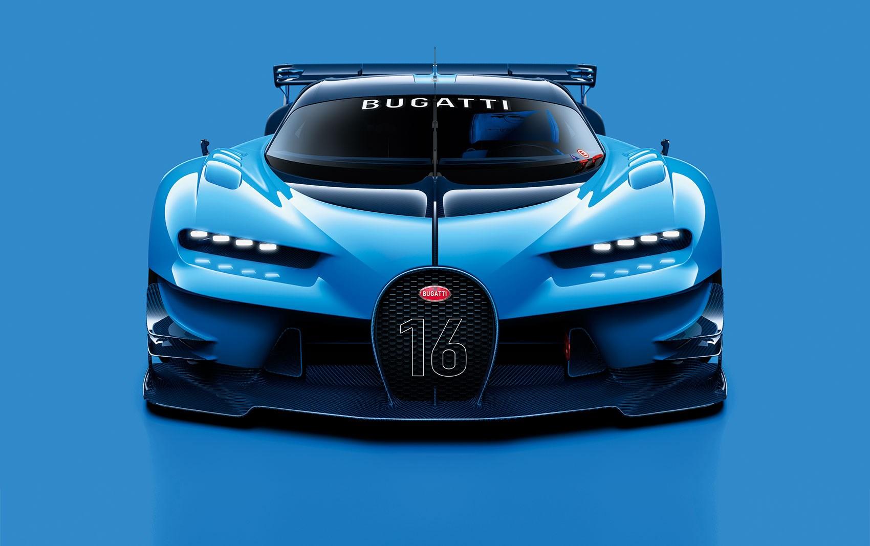 Bugatti Vision Gran Turismo at Frankfurt motor show ...