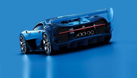 Bugatti Vision Gran Turismo: a mean behind