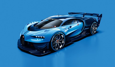 See the new Bugatti at Frankfurt motor show 2015