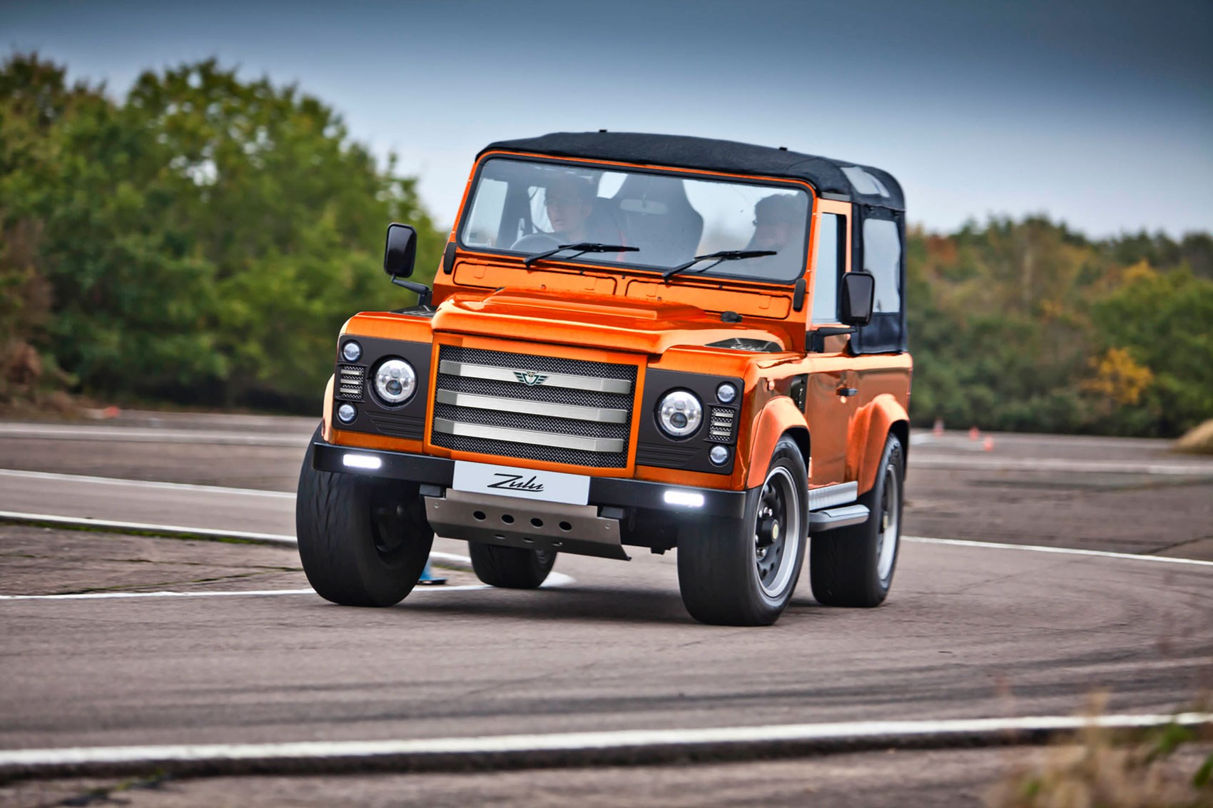 Attack Is The Best Form Of Defender Meet The 475bhp Zulu 178