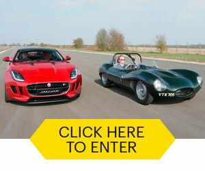 Enter our amazing Jag competition now!
