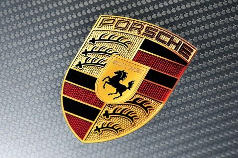 Porsche GT2 bonnet crest sticker