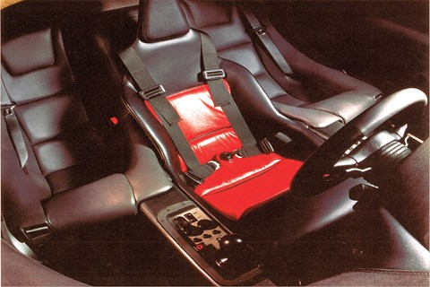 McLaren F1 custom hi-fi - no radio or cassette