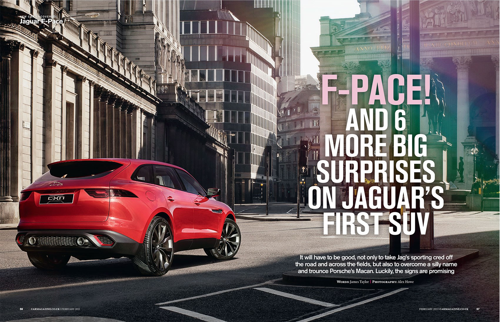 Jaguar F-Pace: CAR magazine, February 2015