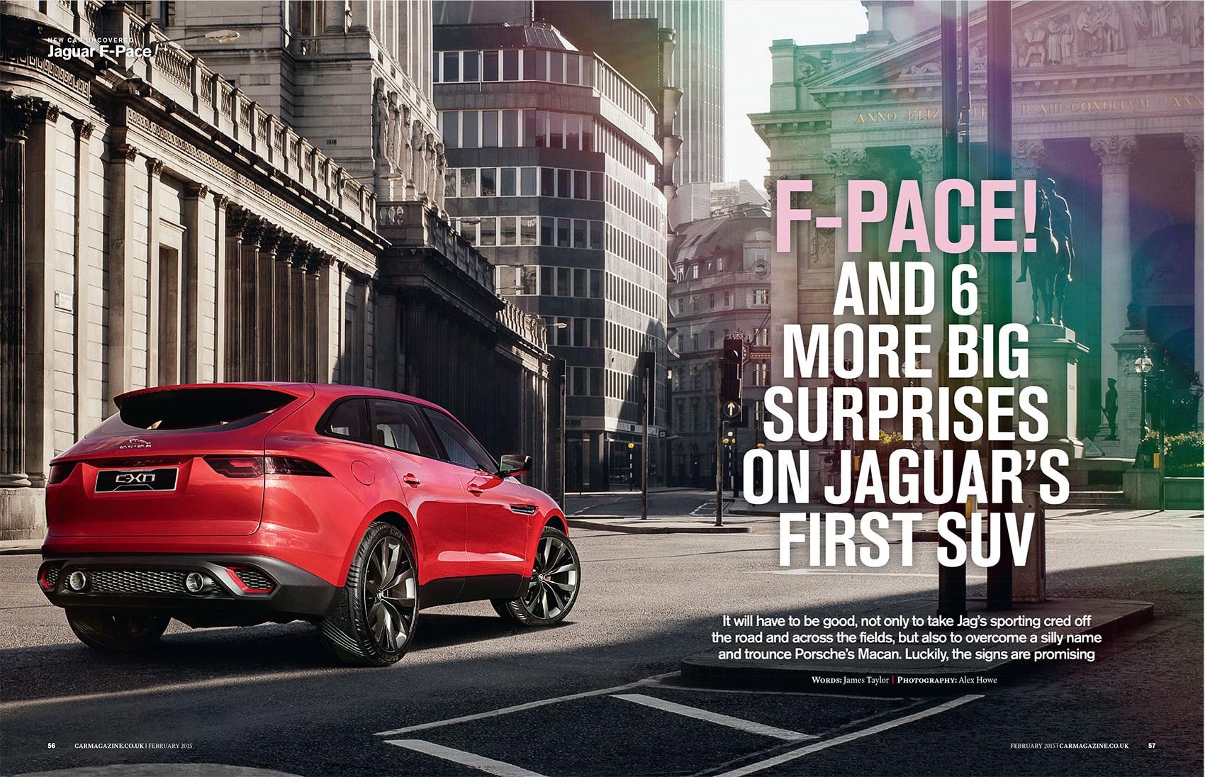Jaguar F-Pace: CAR magazine, February 2015