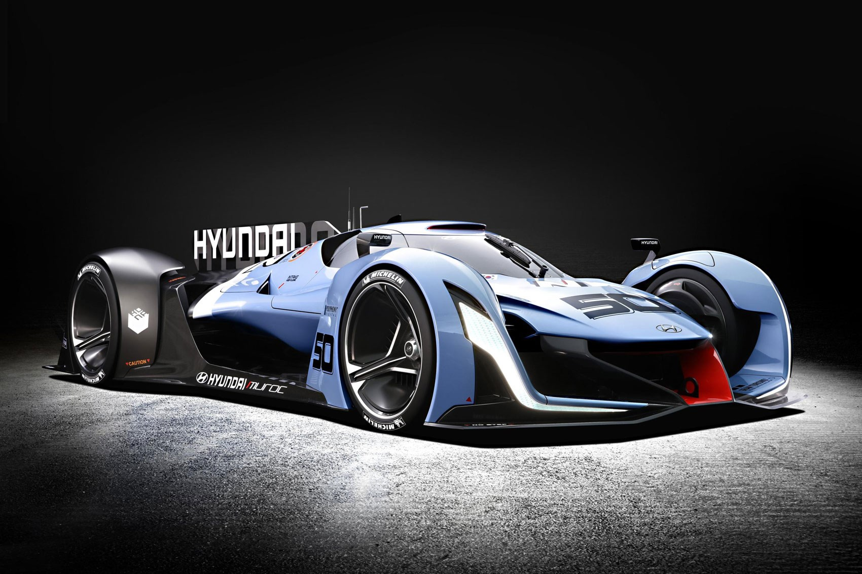 hyundai n 2025 vision gran turismo at frankfurt 2015 by car magazine. Black Bedroom Furniture Sets. Home Design Ideas