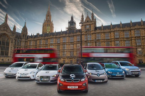 EV and plug-in hybrid sales on the up