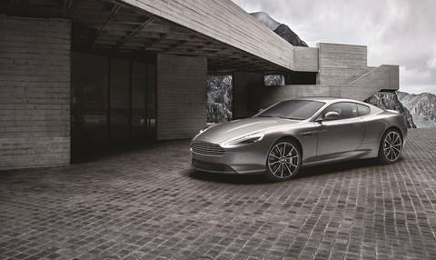 The new 2016 Aston Martin DB9 GT Bond Edition