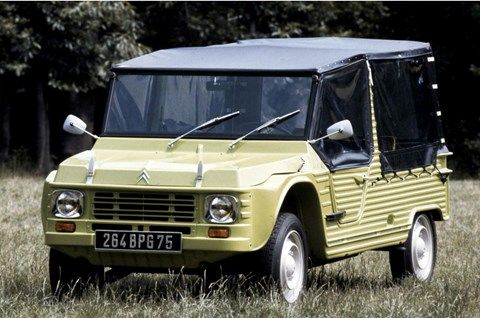 The original 1960s/70s Méhari beach buggy