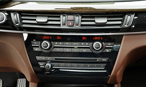 BMW X5's man/machine interface