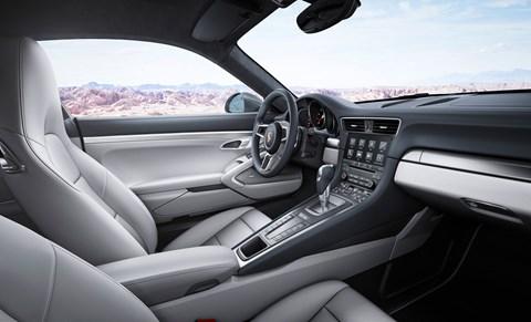 Inside the new 2016 model year Porsche 911