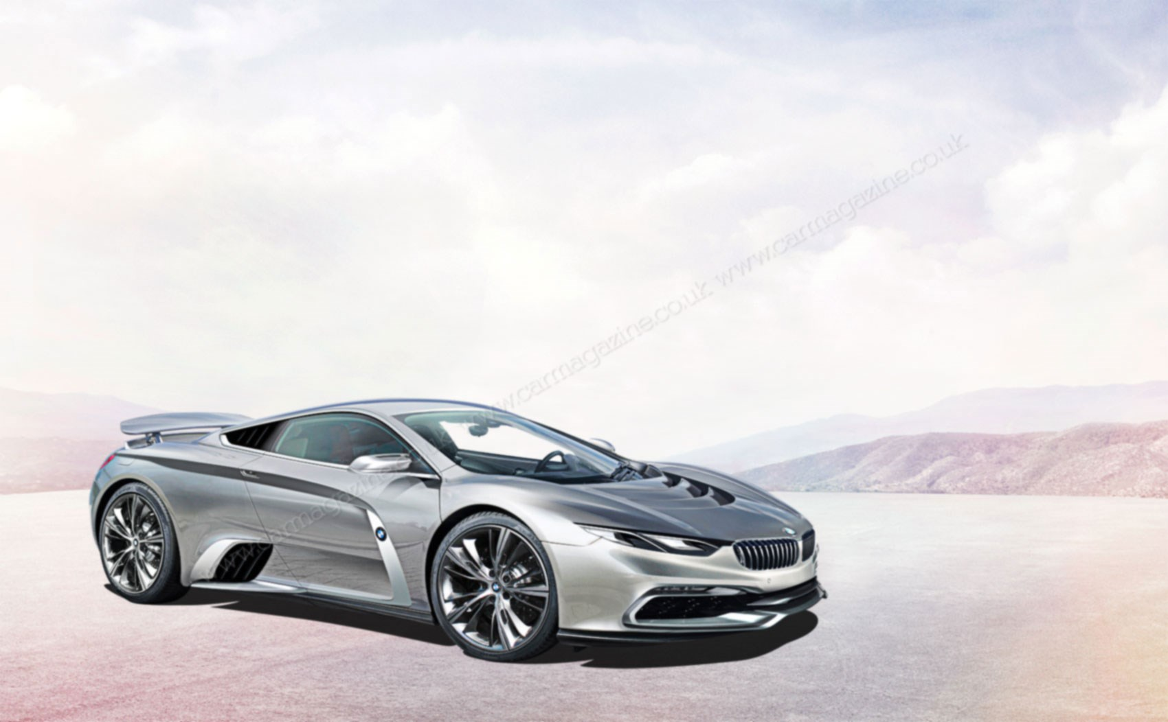 Artists Impression By Andrei Avarvarii BMW Panels On A McLaren Developed Tub Would Ensure Clear Differentiation