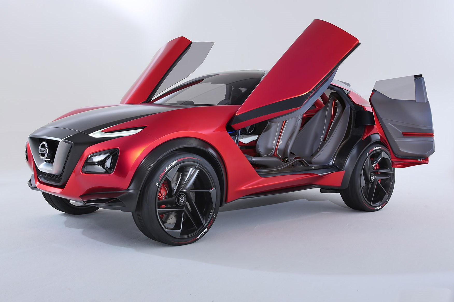 nissan gripz concept puts the 'sport' in suv for frankfurt 2015
