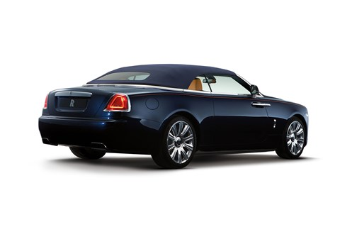Roof up: the Rolls-Royce Dawn