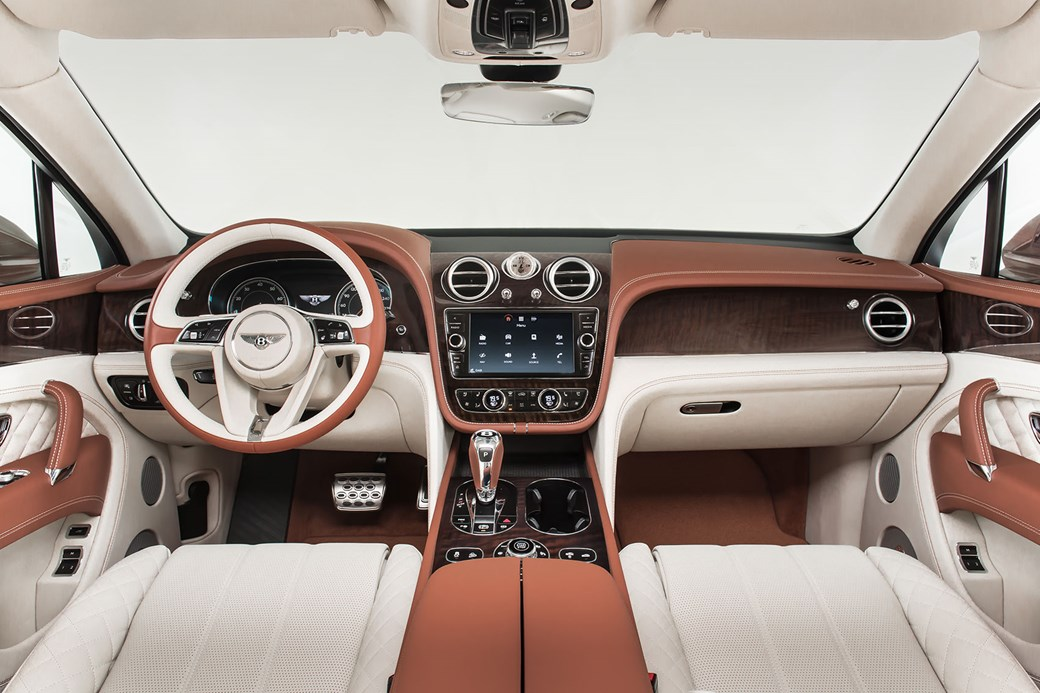 2018 bentley suv interior. exellent bentley inside the bentley bentaygau0027s cabin 2018 bentley suv interior