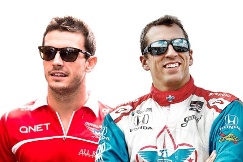 Jules Bianchi (left) and Justin Wilson (right) sadly passed away in two separate motorsport tragedies
