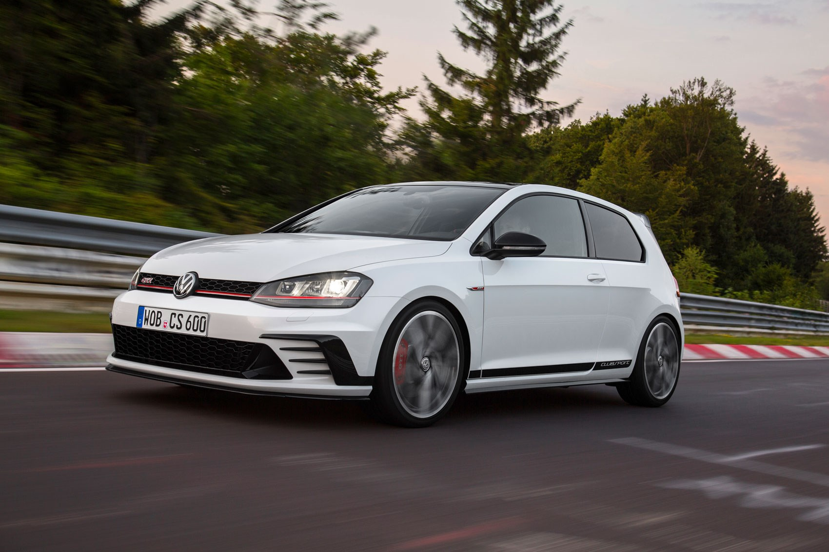 Volkswagen golf gti clubsport is the fastest golf gti yet