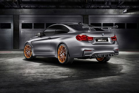 M4 GTS concept has indirect water injection. Production version gets it in 2016